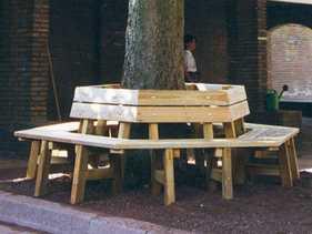 Baum-Sitzbank Eichenland