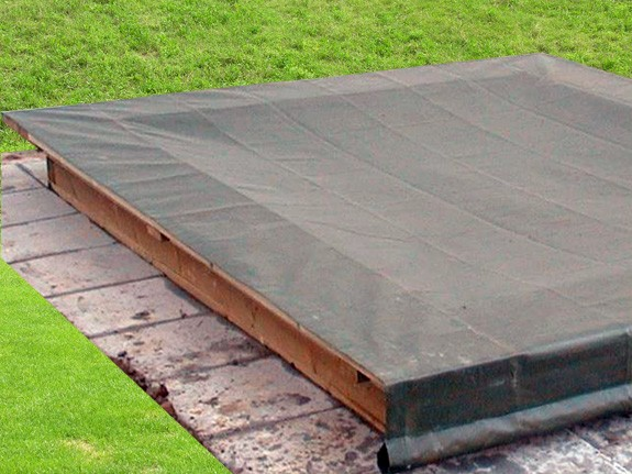 Sandkastenabdeckung Profi wird auf Mass angefertigt Preis pro m²
