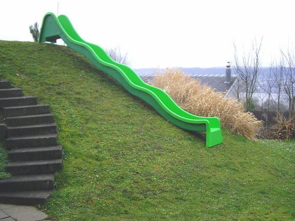 Anbaurutschbahn, Hangrutsche 3 Wellen 560 cm