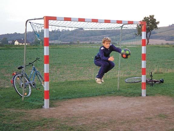 Fussball-Tor Diego Bolztor, mit Alupfosten, farbig gegen Aufpreis