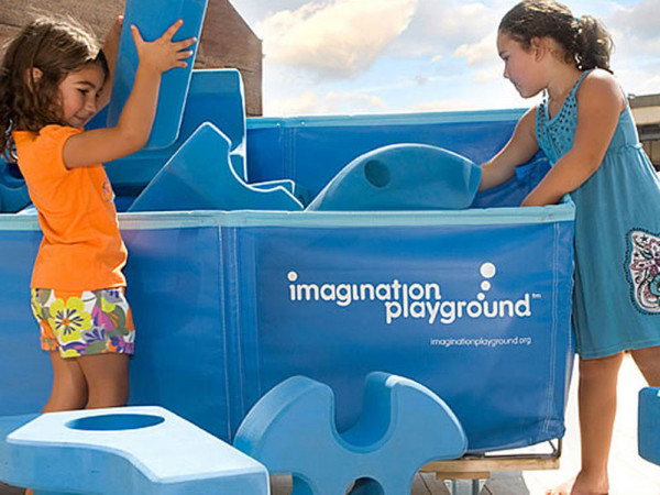 Imagination Playground 105 Teile, Verpackung 4 Karton
