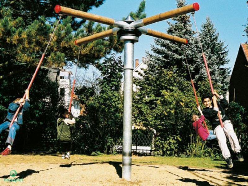 Drehbäume, Kletterbäume für den Spielplatz Klettern, Drehen, Bewegen und Rennen