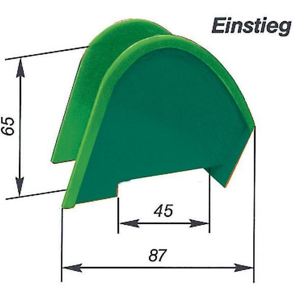 Element Rutschbahn Einstieg 45 cm