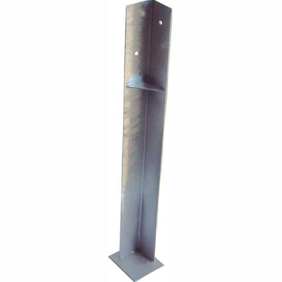 Pfostenschuh Länge 90 cm für Kantholz Schenkellänge 75x75mm